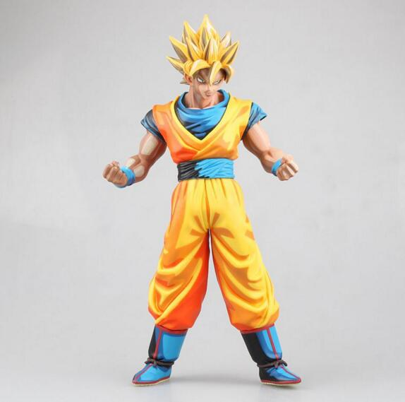 27cm big size Japanese classic anime figure dragon ball Super saiyan SON GOKU action figure collectible model toys for boys 8pcs set anime how to train your dragon 2 action figure toys night fury toothless gronckle deadly nadder dragon toys for boys