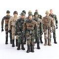 Strass marinha exército aviador militar soldado modelos PVC figuras de ação brinquedos do menino criança crianças ( Random )