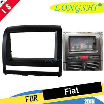 2DIN Car Radio Fascia for FIAT Albea, Siena, Palio 2004-2012; Perla 2006-2008 Stereo Facia Dash CD Trim Install Frame Kit ,2 din