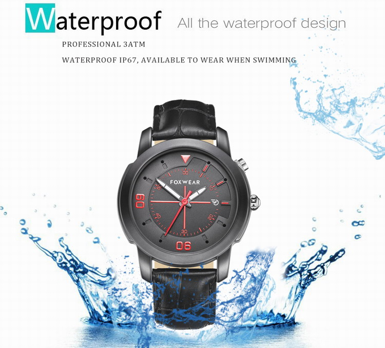 Fashionable bluetooth 4.0Bluetooth Smart Watch Health Clock Waterproof 3ATM IP67 Quart Sports Smartwatch Fitness Tracker for iPh