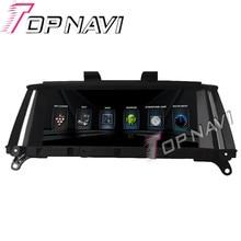 TOPNAVI 1024*600 Quad Core Android 4.4 Navegación Del GPS Del Coche para BMW X3 2016-Autoradio Multimedia de Audio Estéreo, NO DVD