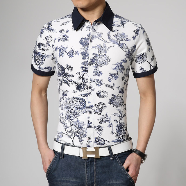 Collection Floral Shirt Mens Pictures - Fashion Trends and Models