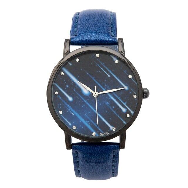 6713d65b2e1 Starry Night Sky Incrível Belo Universo Relógio Das Mulheres de Quartzo  Moda Relógios de Pulso dos