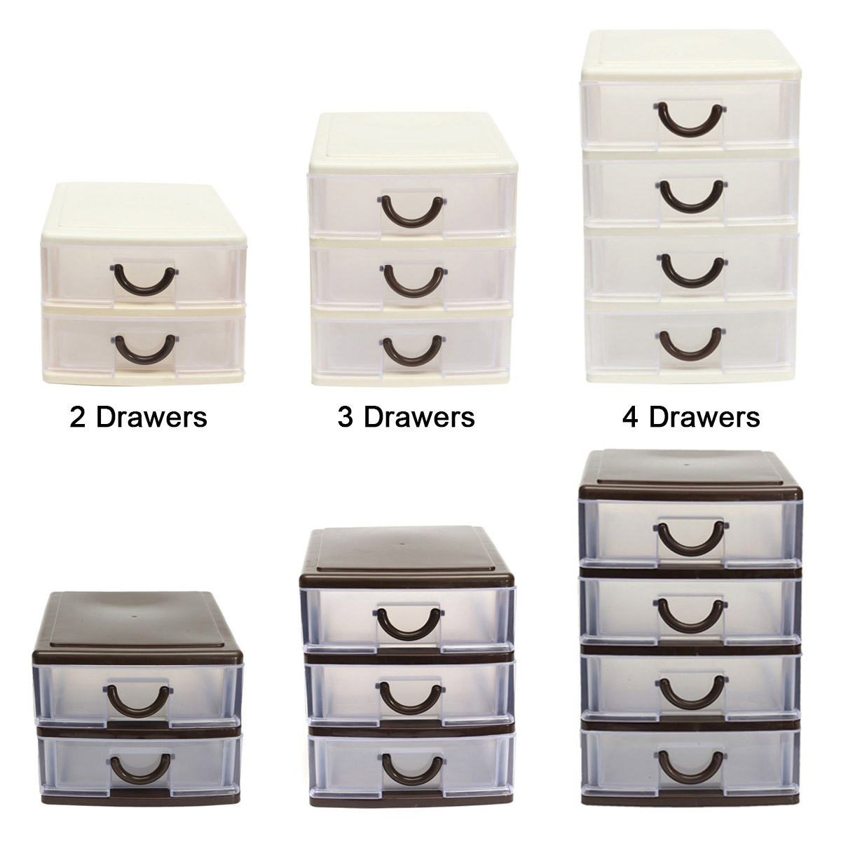 Storage-Box Drawer Cosmetic Office-Table Desktop Plastic Debris Durable Holder Hot Hogard