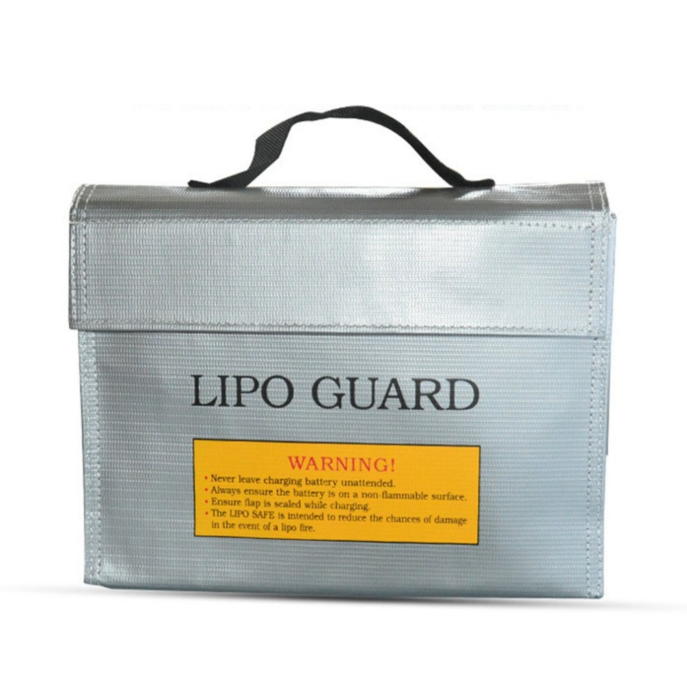 Portable Lithium Battery Guard Bag Fireproof Explosion-proof Bag RC Lipo Battery Safe Bag Guard Charge Protecting Bag