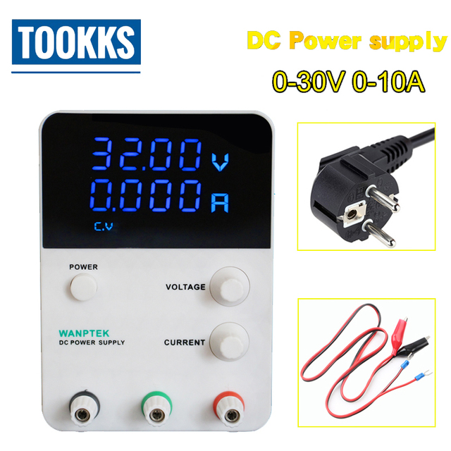 Hot Sale GPS3010D 30V/10A Voltage Regulator Mini  Adjustable Digital DC Power Supply Single Channel 220V 30V 10A Variable