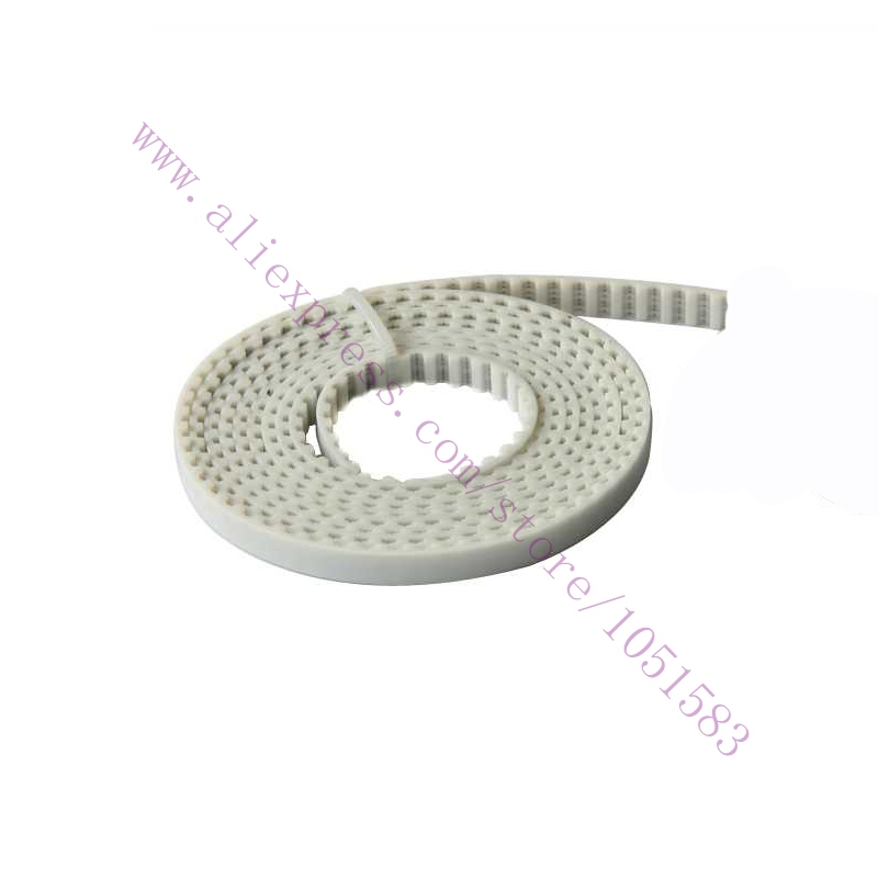 5 Meters T5 PU Timing Belt 5mm pitch Width 6mm Perfect For 3d printer,RepRap Prusa Mendel Huxley CNC Free Fhipping