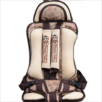 New Thicken Cotton Car Protection Child Car Seat 5 Point Harness Baby Safety Car Seat Children