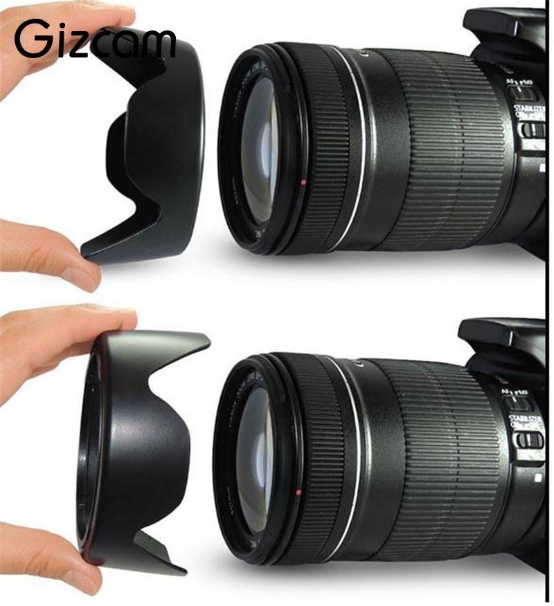 Gizcam 1 шт. 67 мм EW-73B EB 73B Камера бленда объектива для Canon 550D 600D 650D 700D 60D для EF-S 17-85 мм 18-135 мм