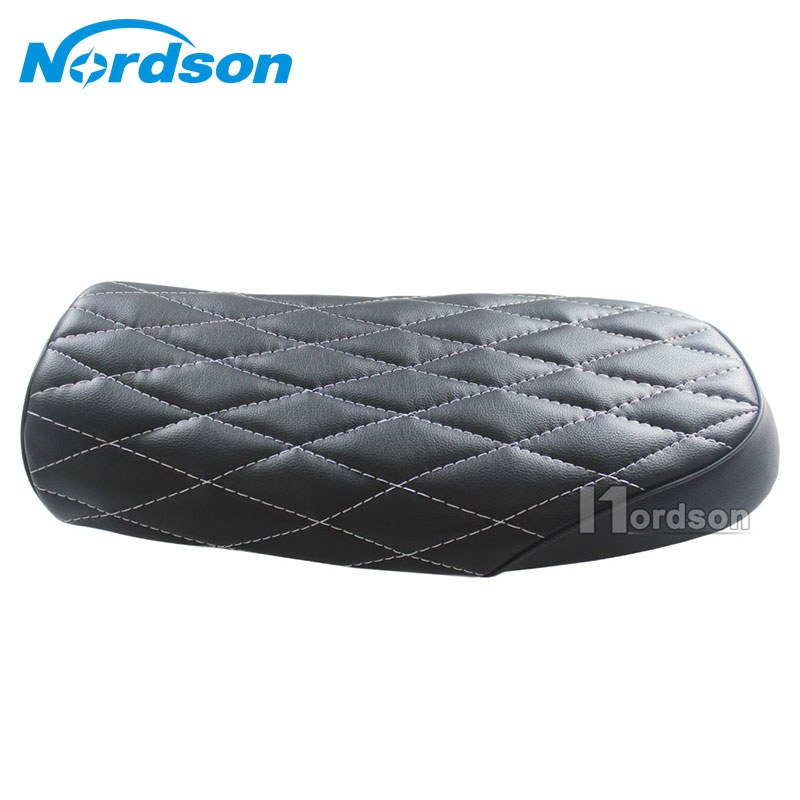 Nordson Motocross Grid Seat Motorcycle Retro Seat Cushion Moto Off-Road Dirt Bike For Honda Suzuki Kawasaki Yamaha SR400 GS CB new summer cool 3d mesh motorcycle seat cover breathable sun proof motorbike scooter seat covers cushion for honda yamaha suzuki