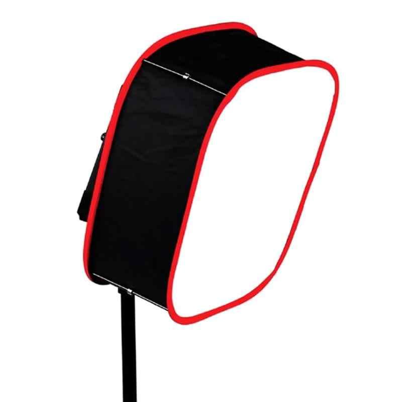 Softbox pieghevole portatile 40x40cm per modificatore di illuminazione per pannello luminoso a LED quadrato scatola di riempimento per fotografia YN600 YN900