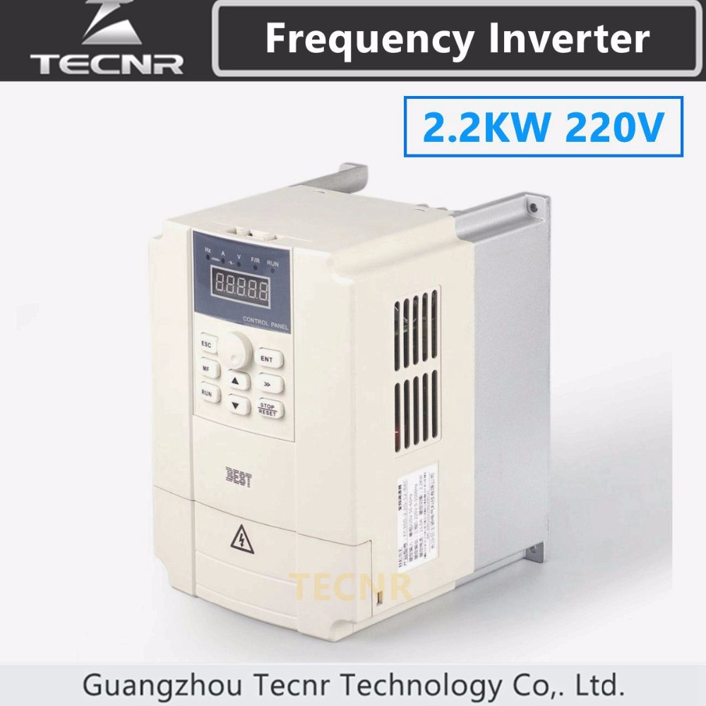 Cnc Spindle Motor Speed Control 220v 22kw Vfd Variable Frequency Drive Electronics Hobby Inverter 1hp Or 3hp Input