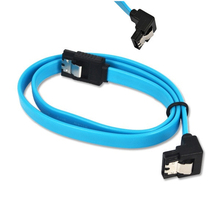 Super Speed Straight Right Angle 6Gbps 50CM SATA 3.0 Cable 6GB/s SATA III SATA 3 Cable Flat Data Cord for HDD SSD