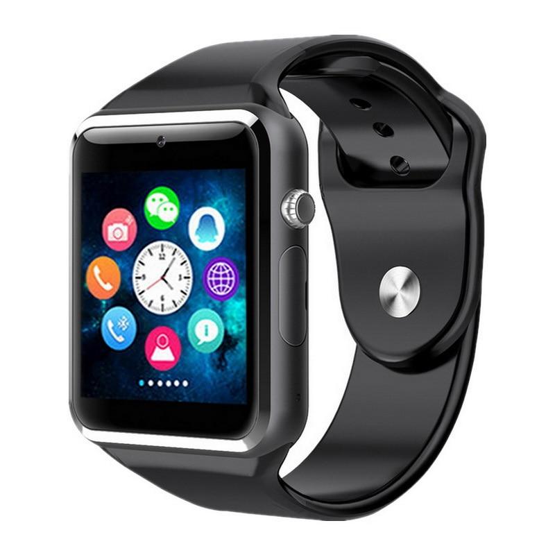 GETIHU A1 reloj inteligente reloj Bluetooth Digital muñeca deporte reloj de teléfono de tarjeta SIM con cámara para Apple iPhone Android Samsung