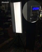 Набор проводников для длинной 1,2 метр Светодиодная подсветка солнечный свет для камеры лампа kino flo портрет макияж лампа DMX управлением v обра