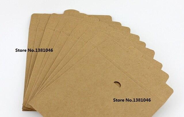 10 x Plain Brown Kraft Disc Case Envelope Bag Sleeve For CD DVD ...