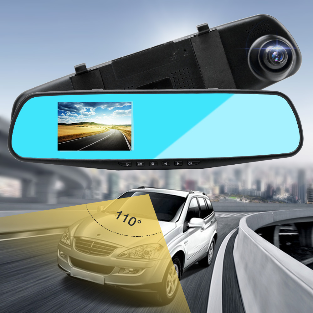 1080P HD Car DVR Camera Drving Recorder 3.5 inch Blue Screen Motion Detection Wide Angle USB Video Auto Camera Automovil Cama-in DVR/Dash Camera from Automobiles & Motorcycles