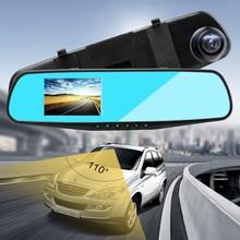 1080P HD kamera DVR jazdy rejestrator 3.5 cal niebieski ekran detekcja ruchu szeroki kąt wideo USB kamera samochodowa Automovil Cama