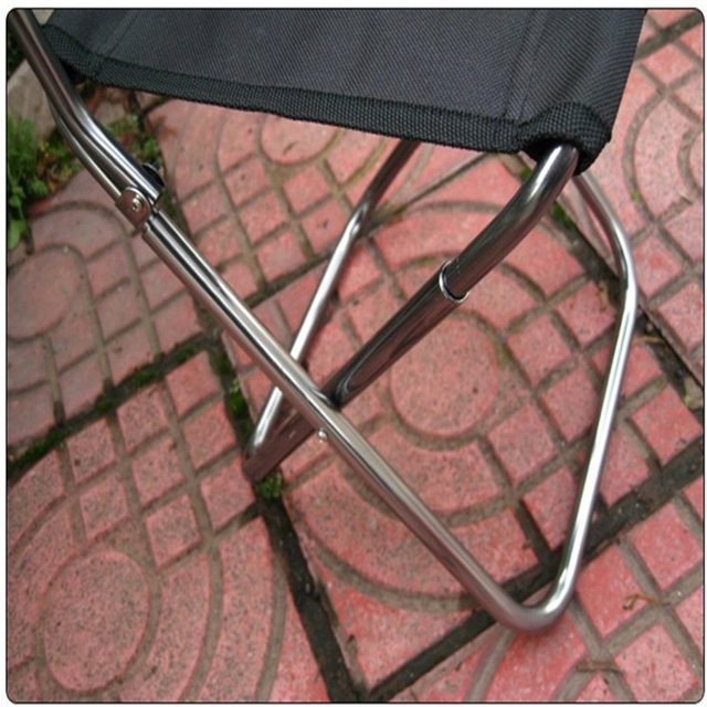 Wholesale Portable Folding Beach Chair Outdoor Fishing Chair Ultra Light  Backrest Chair Camping Barbecue Stool