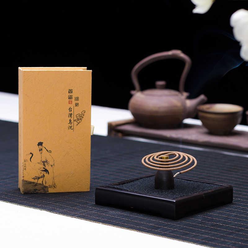 PINNY Australia bobina de incienso de sándalo refrescante Herbal Encens Spirale antiséptico casa fragancia hecho a mano aromaterapia palos