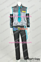 Vocaloid 2 Cosplay Hatsune Mikuo Costume Male Version Uniform H008