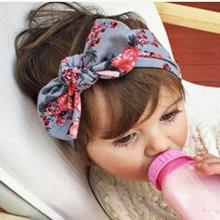Baby Headband Newborn Kids Girls HeadbandS Toddler Cute Lovely Big Bow Muti-Color Floral Hair Band Hairwear Accessories