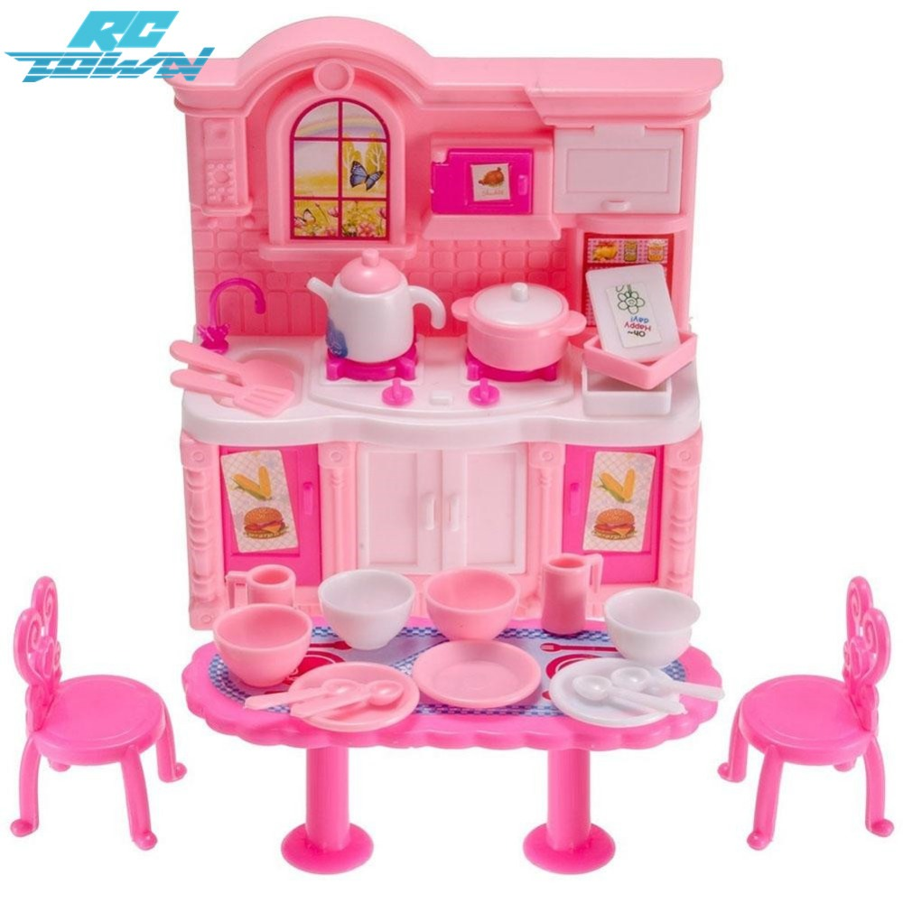 Kitoz Mini kinder Küche Spielzeug Pfanne Pot Dish Modell Pretend ...