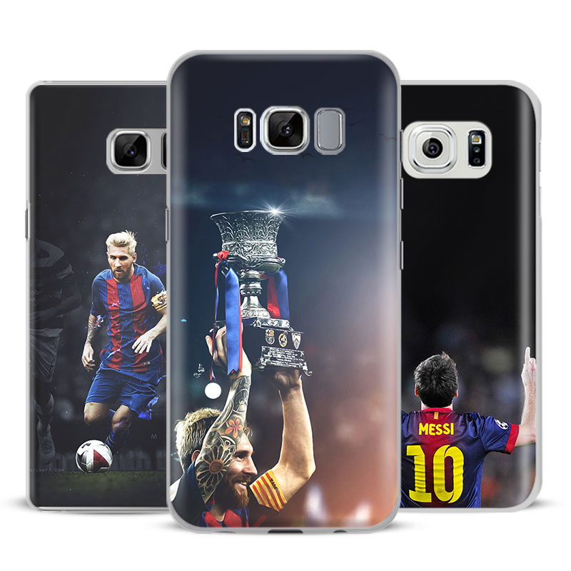 Lionel Messi Mobile Phone Case Shell Cover Bag For Samsung Galaxy S4 S5 S6 S7 Edge S8 S9 Plus Note 8 2 3 4 5 A5 A710 J5 J7 2017