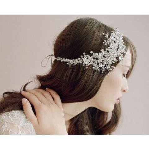 Chapéu cocar Hairpin com véu e casamento, Galinha noite