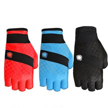 2016 Factory wholesales Unisex Half finger Gel gloves with three colors