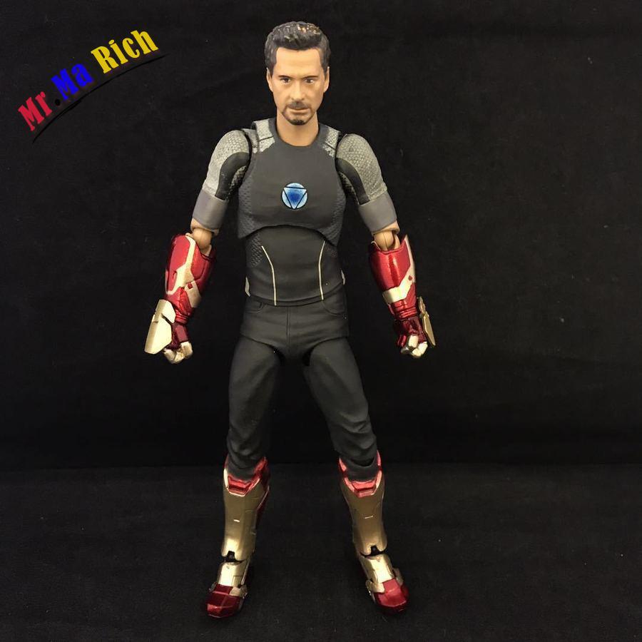 Shf Figuarts Avengers fer homme Variant Tony Pvc Figure à collectionner jouet 17 cm
