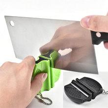 Mini Ceramic Rod Tungsten Steel Camp Pocket Kitchen Knife Sharpener Tool