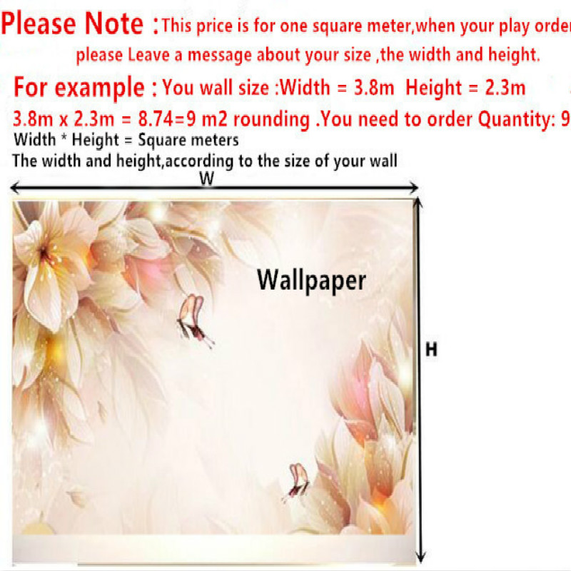 Home Improvement 3D Wallpaper for Wall 3d Decorative Wall Paper Background Tropical Oil Painting Flamingo Wallpaper Murals Home Improvement