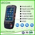 Diseño único De Alta Capacidad 4000mA Android Escáner de código de Barras PDA terminal de mano
