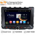 GreenYi Car DVD GPS Player for Ssangyong Rexton Rodius STAVIC Android 5.1.1 Quad Core RK3188 Radio Bluetooth Mirror Link MAP 4G