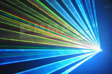 2000 mW RGB animación haz 3D programable discoteca de iluminación láser