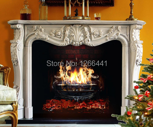 luxurious carved stone marble fireplace mantel frame classic european stylechina mainland