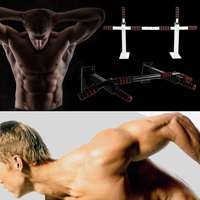 2019 New Body Fitness Exercise Home Gym Gymnastics Workout Training Door Pull Up Bar Push Chin Up itness Equipment