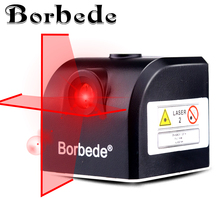 Laser mini level, horizontal and vertical laser crossover, high precision easy to carry Borbede