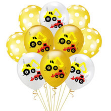 12 Inch Truck Balloons Happy Birthday Decoration Boy Favors Latex Balloon Party Decorations Kids Ballons
