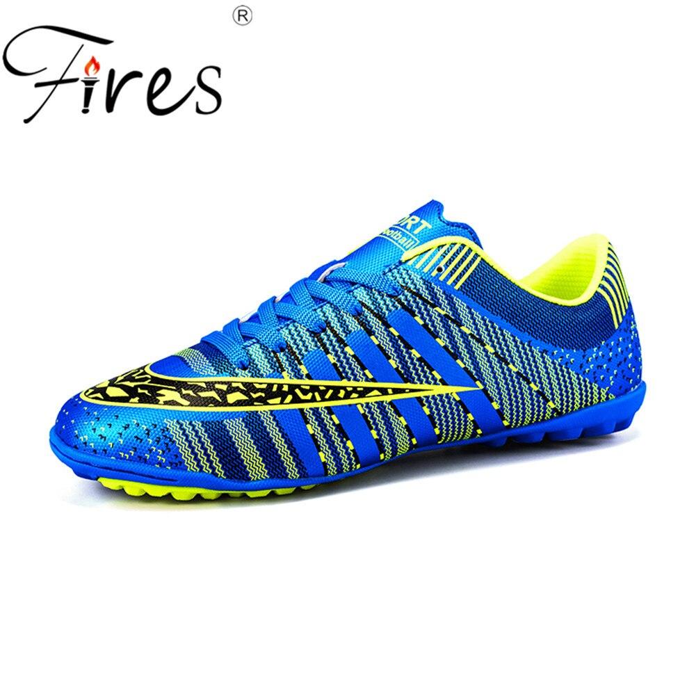 4603f5203 שריפות של גברים נעלי כדורגל דשא futsal כדורגל 45 סוליות Superfly לילדים  מקורי מקורה בתוספת גודל נעלי סניקרס chaussure דה רגל ~ Best Seller June 2019