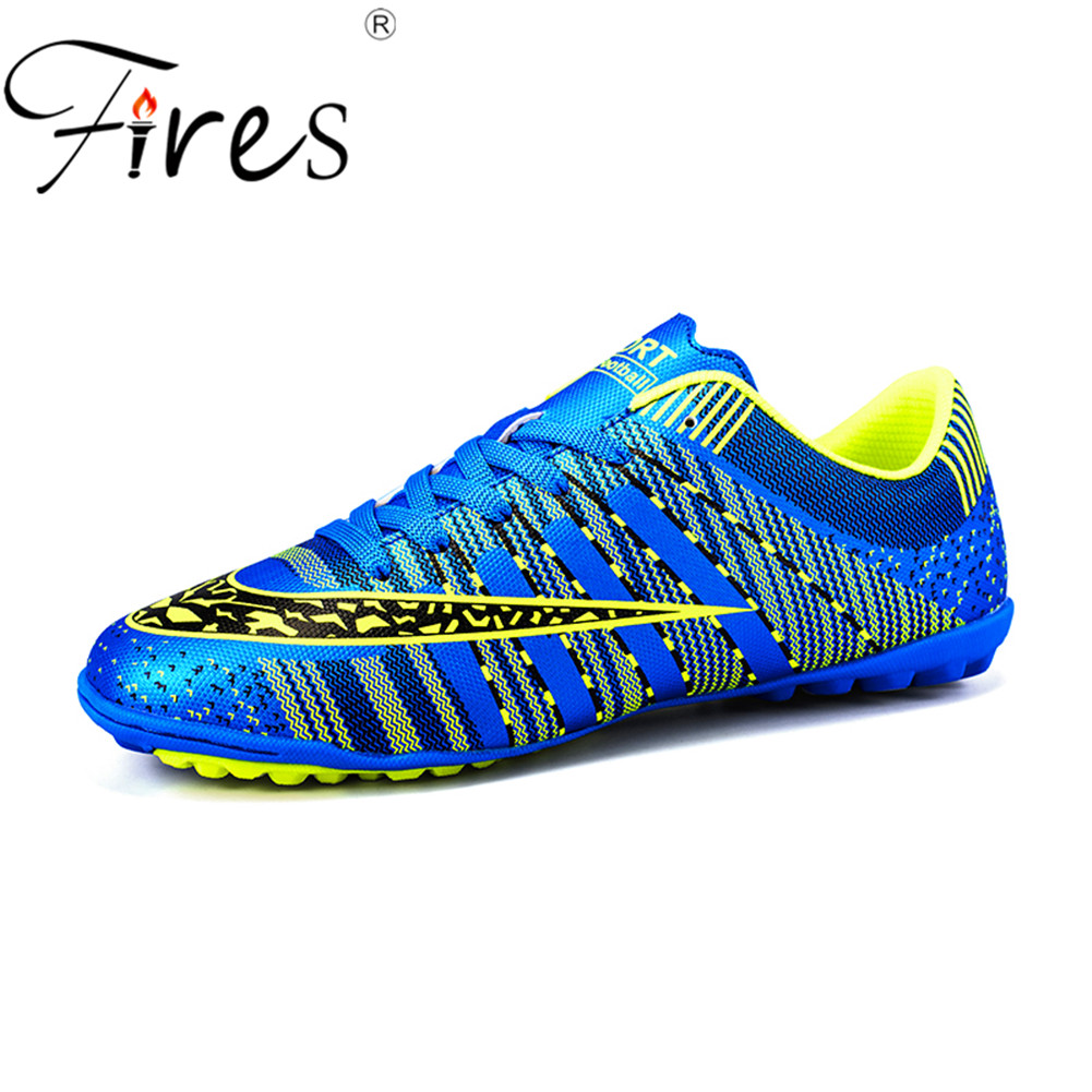 Fires Men s Turf Soccer Shoes Indoor Plus Size 45 Cleats Kids Original  Superfly futsal Football Shoes Sneakers chaussure de foot c748c06f34d7