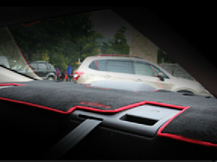 Auto dashboard mat instrument desk rear window pad for Mazda 6 ATENZA 2014, free shipping free shipping 2 pcs lot rear window
