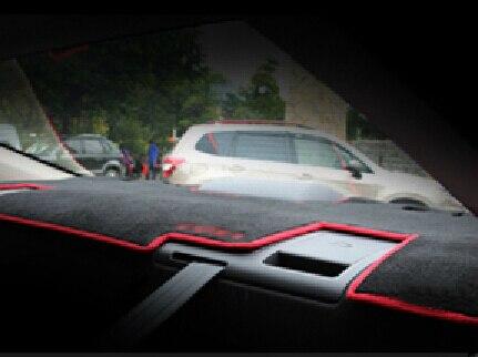 Auto dashboard mat instrument desk rear window pad for Mazda 6 ATENZA 2014, car styling