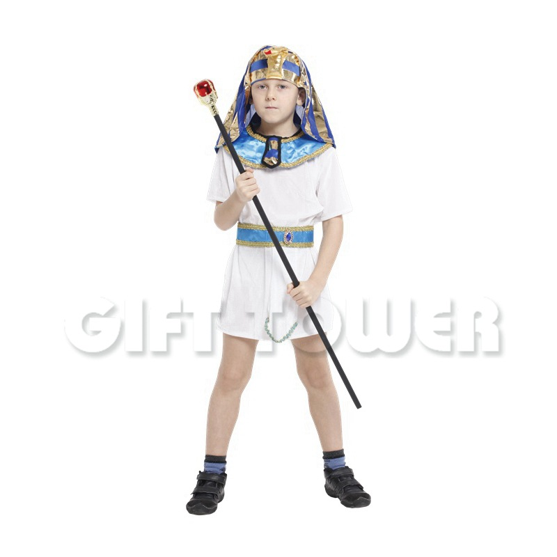 children carnival halloween boys pharaoh of egypt suit cool cosplay king little prince costume cosplay children - Egyptian Halloween Costumes For Kids