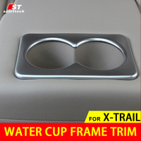 2016 Car Styling Water Cup Frame Trim For Nissan Water Cup Car Stickers Covers For Nissan
