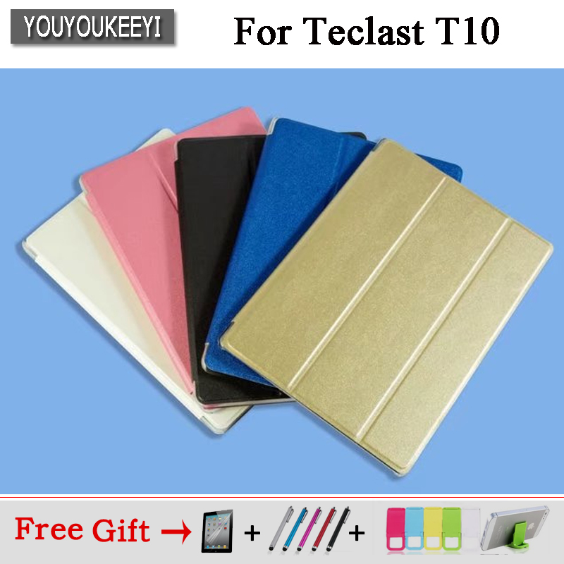 Ultra Slim PU case stand cover for Teclast T20/ T10 10.1inch tablet ,5 colors available, Protector film+Stylus gifts russia epacket for visual land prestige elite 8qs 8 inch universal tablet pu cover case free stylus center film 10 colors