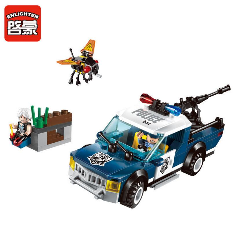 где купить  2017 Enlighten New Police Series Remote assault Building Block sets Bricks Toys Gift For Children Compatible With Lepin  по лучшей цене