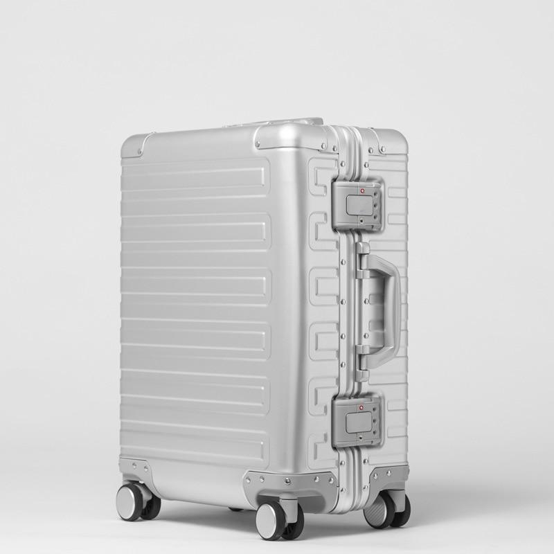 Classic Aluminum Luggage Suitcase 21