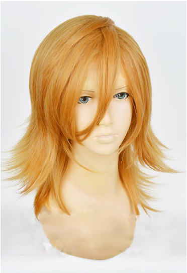 Anime Uta No Prince Headwear Ren Jinguji Cosplay Hair for Men Halloween Party Cosplay Hair Headwear Accessories